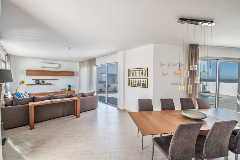 Luxury Villa in the hills of Ayia Napa Type A Living Room