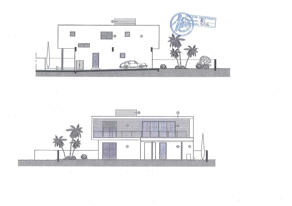 Luxury Villas in the Hills of Ayia Napa (Type A) Layout Outside