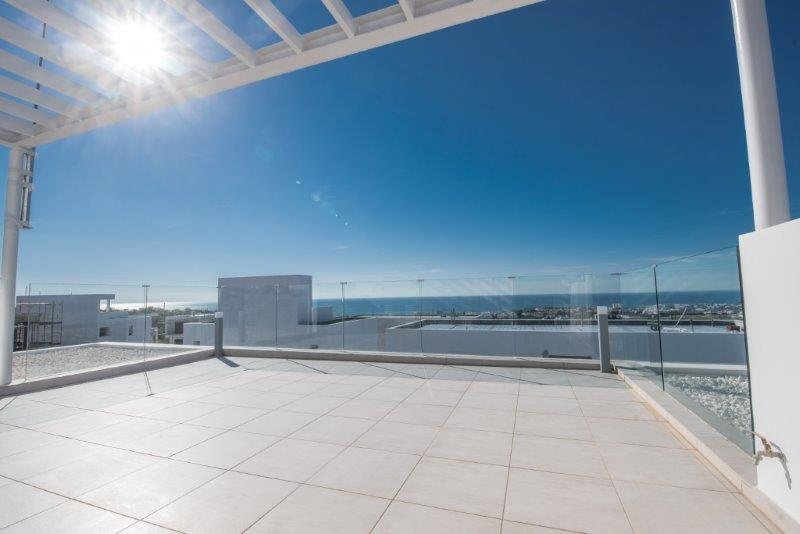 Luxury Villas in the Hills of Ayia Napa (Type E) Roof Terace View