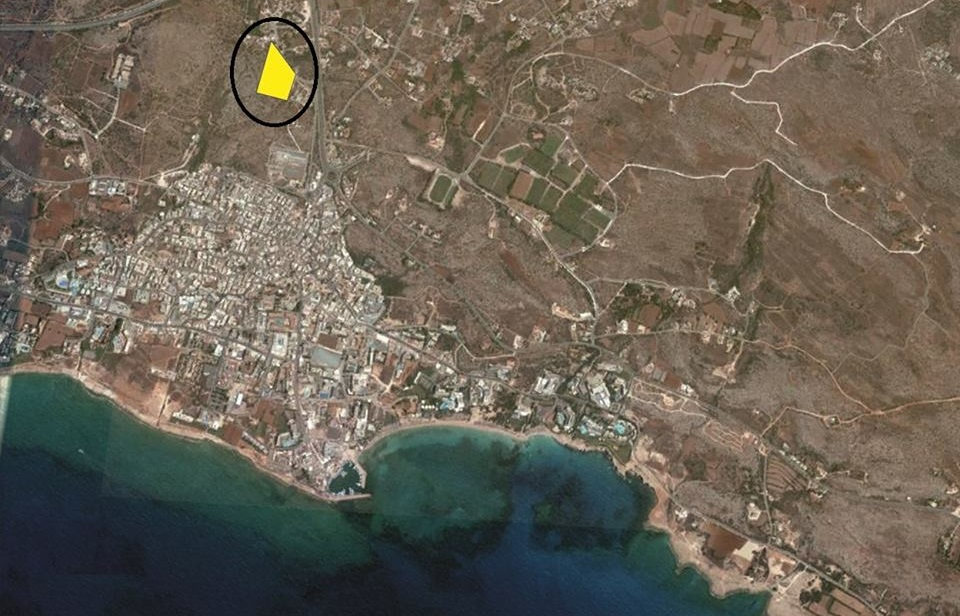 Luxury Villas in the hills of Ayia Napa Complex Position on the Map
