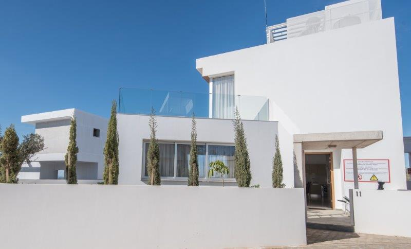 Luxury Villas in the hills of Ayia Napa (Type B) Image from the back