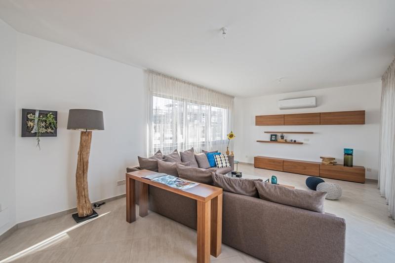 Luxury Villas in the hills of Ayia Napa Type E - Villa 1 Living Room